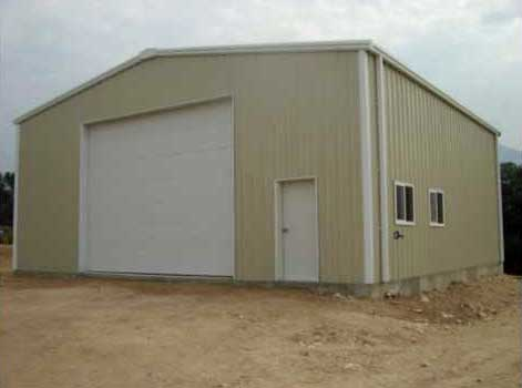 Residential Steel Shop & Foundation
