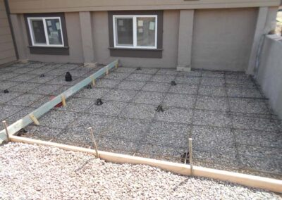 New Patio Rebar