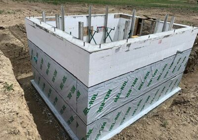 Waterproofing on BuildBlock walls for mechanical room